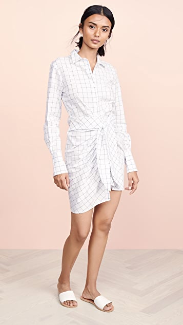 Habitual Charlize Tie Front Tunic