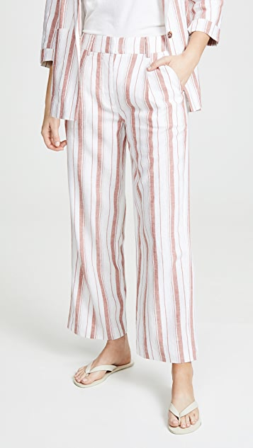 Habitual Rae Crop Wide Leg Pants