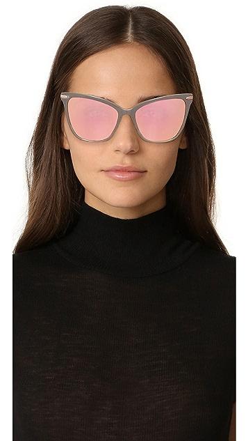 Очки Hadid Солнцезащитные очки Jet Setter