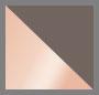 серый/розовое золото