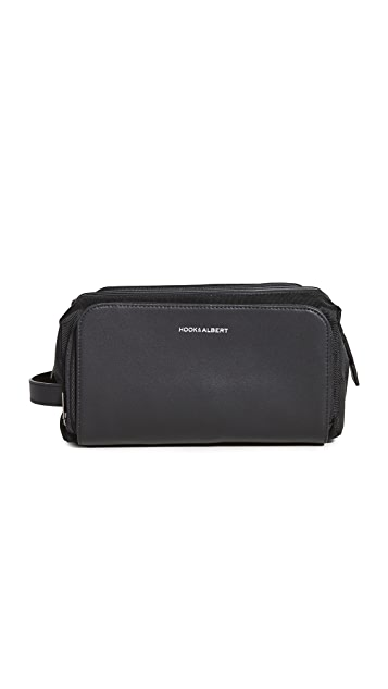 Hook & Albert Leather Dopp Kit