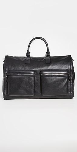 Hook & Albert - Leather Garment Weekender Bag