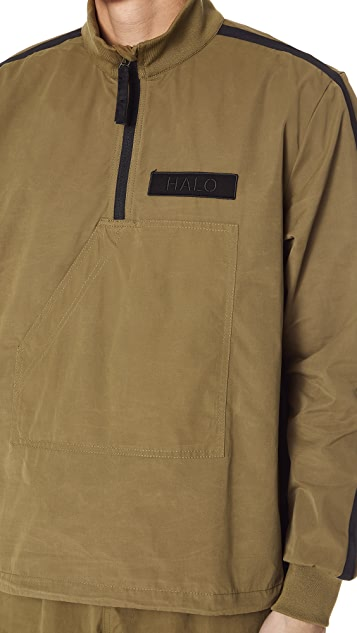HALO HALO Canvas Anorak