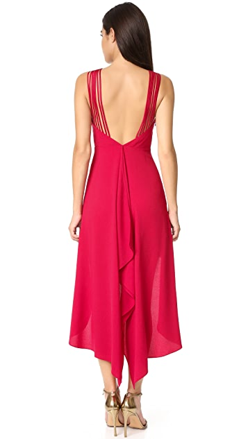 Halston Heritage Multi Strap Dress
