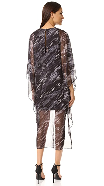 Halston Heritage Caftan Dress