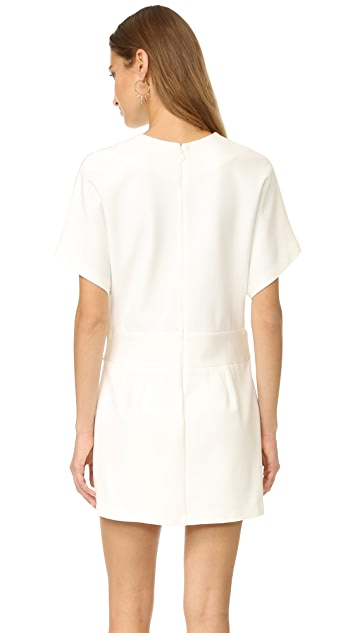 Halston Heritage Deep V Wrap Dress