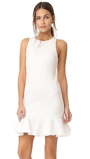 Halston Heritage Drop Waist Dress