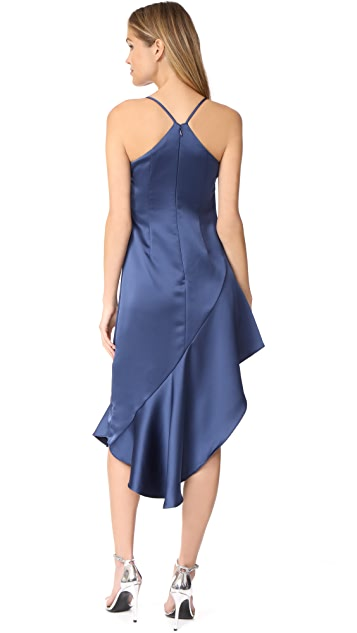 Halston Heritage Asymmetric Dress