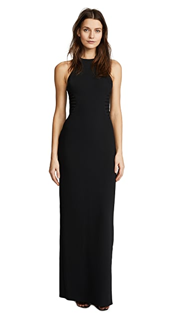 Halston Heritage High Neck Gown