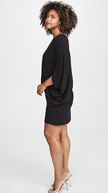 HALSTON 单肩连衣裙