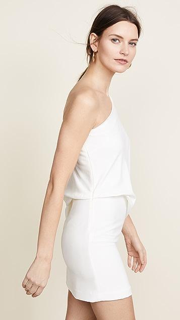 Halston Heritage Платье с открытым плечом