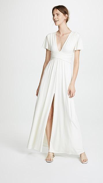 Halston Heritage Flutter Gown