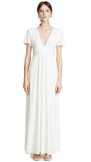 HALSTON Flutter Gown