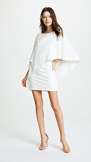 Halston Heritage Draped Dress