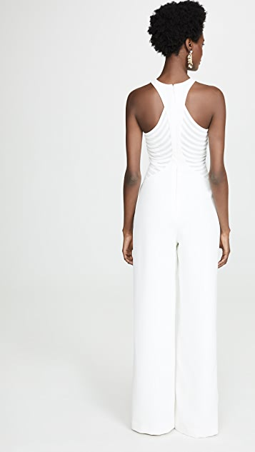 Halston Heritage High Neck Jumpsuit