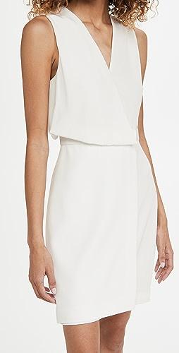 HALSTON - Narciss Drape Dress