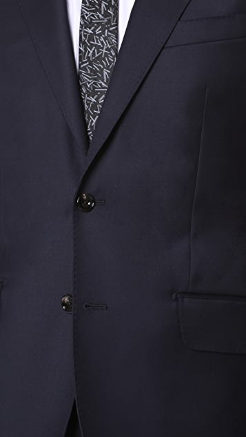 Hardy Amies Clear Cut Twill Brinsley Suit