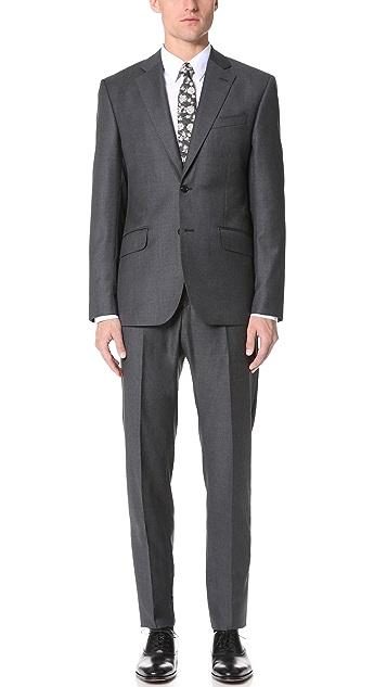 Hardy Amies Clear Cut Twill Brinsley Suit