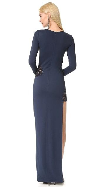 HANEY Gia Long Sleeve Dress