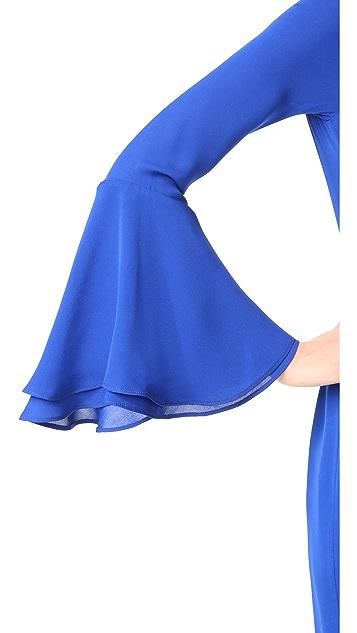 HANEY Alisa Long Sleeve Dress