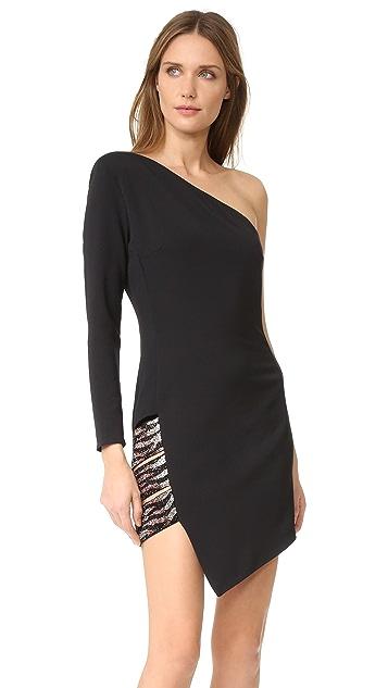 HANEY Alessandra One Shoulder Dress