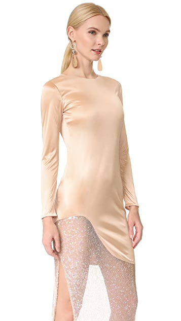 HANEY Josephine Long Sleeve Dress