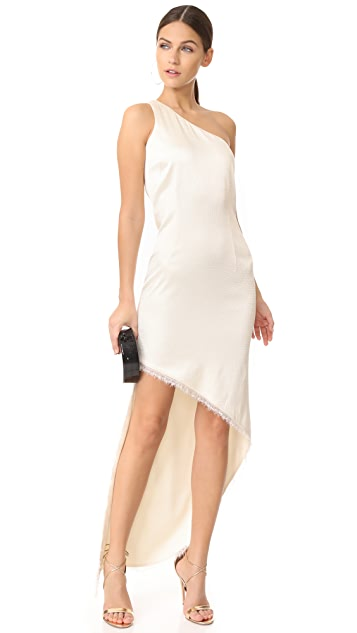HANEY Blanca One Shoulder Dress