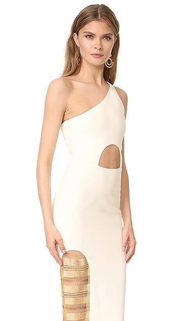 HANEY Petra One Shoulder Dress
