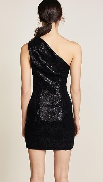 HANEY Valentina One Shoulder Mini Dress
