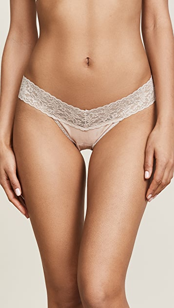 0da28994a37f Hanky Panky Cotton with a Conscience Low Rise Thong | SHOPBOP