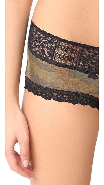 Hanky Panky Camo V Front Boy Shorts