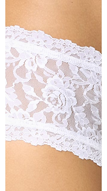 Hanky Panky 3 Pack Signature Lace Boy Shorts