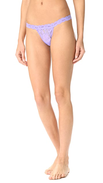 Hanky Panky Signature Lace G String Thong