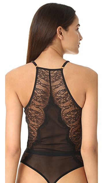 Hanky Panky Natalia High Neck Bodysuit