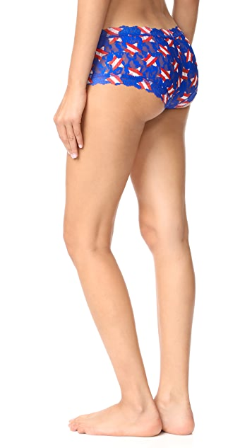 Hanky Panky Star Spangled Boy Shorts