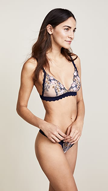 Hanky Panky Embroidered Bralette