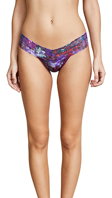 Hanky Panky Highland Garden Low Rise Thong