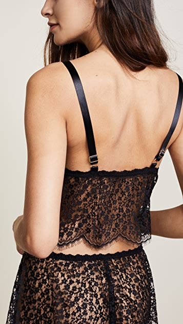 Hanky Panky After Midnight Valentina Crop Top