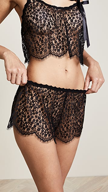 Hanky Panky After Midnight Valentina Tap Shorts