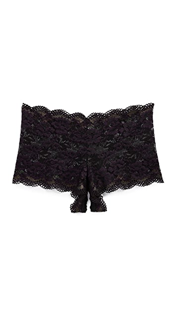 Hanky Panky After Midnight Gina Open Gusset Boy Shorts