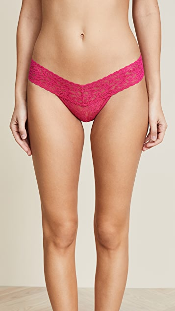 Hanky Panky 5 Low Rise Thong Gold Box