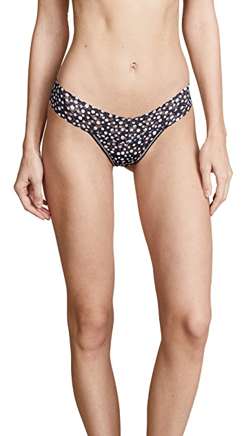 Hanky Panky Flurries Low Rise Thong