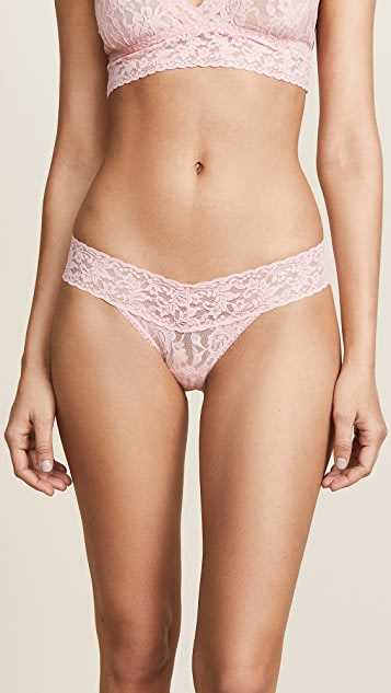 b453eb28d Hanky Panky Signature Lace Petite Low Rise Thong