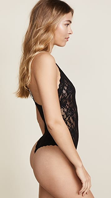 Hanky Panky Signature Lace Thong Back Bodysuit