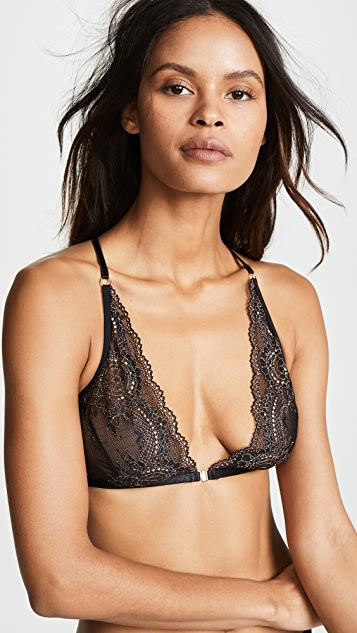 Hanky Panky Rose Gold High Apex Bra
