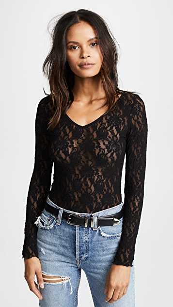 Hanky Panky Signature Lace Unlined Reversible Top
