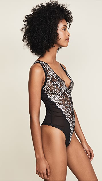 Hanky Panky Regency Collection Plunge Bodysuit