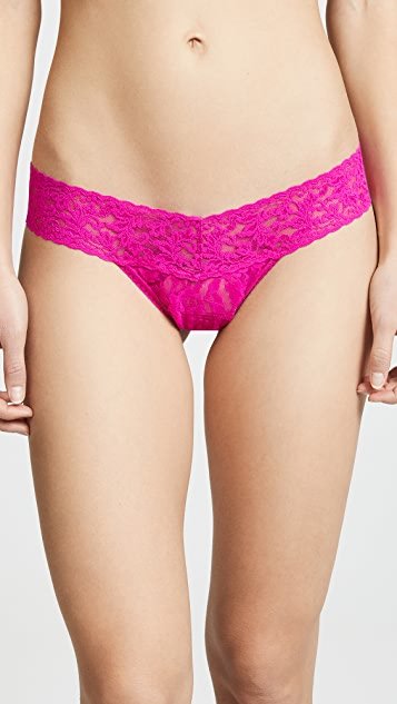 Hanky Panky Valentines Day Packaging 3 Low Rise Thongs