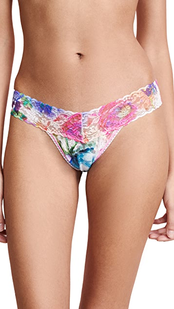 Hanky Panky Impressionista Low Rise Thong