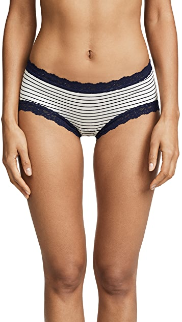 Hanky Panky Striped Jersey Girl-Kini